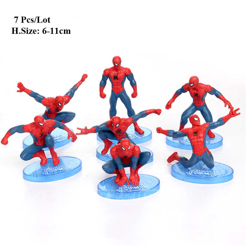 Detail Feedback Questions About Spiderman Toys Cake Topper Cake Toy