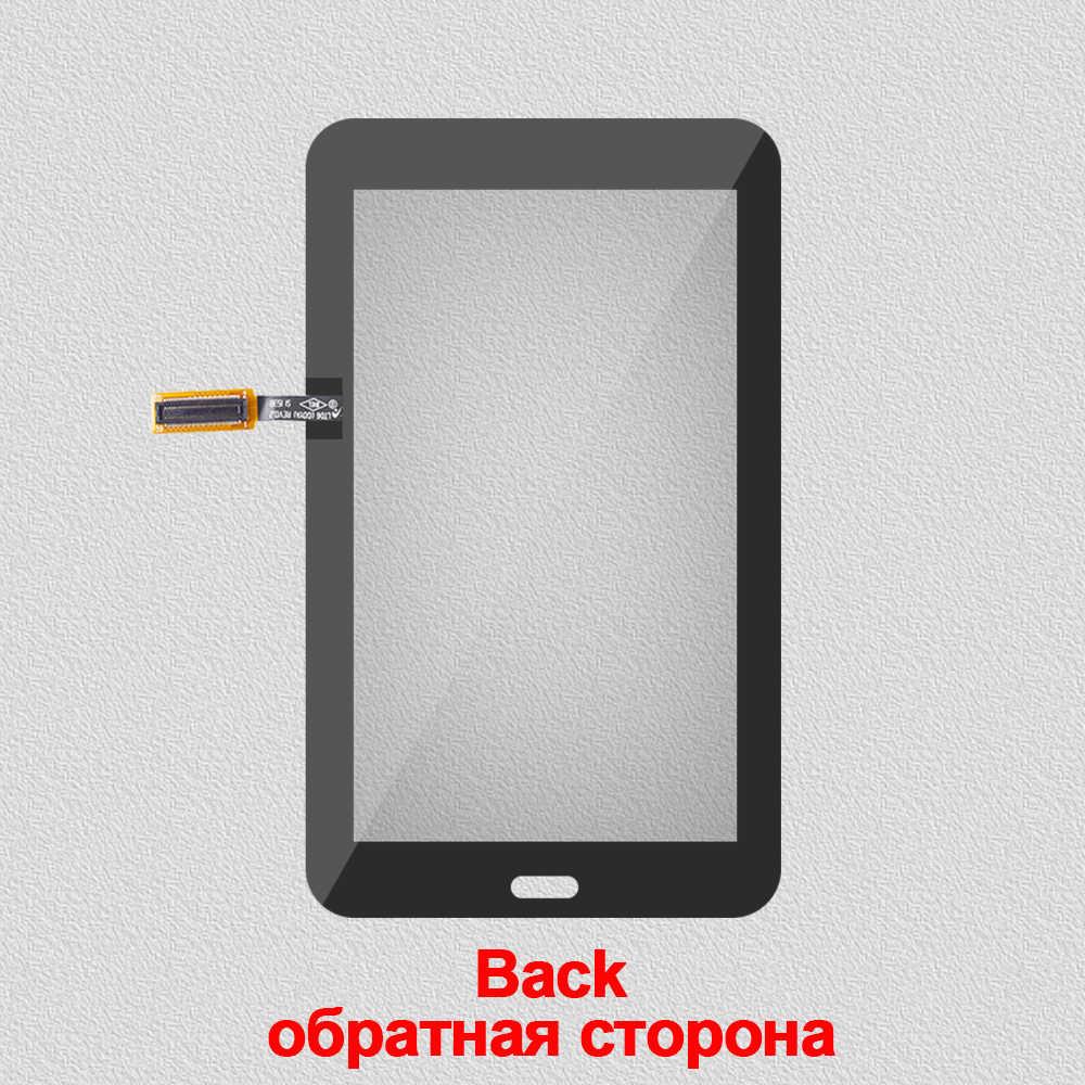 Para Samsung Galaxy Tab 3 SM-T110 SM-T111 SM-T113 SM-T116 SM-T114 pantalla táctil T110 T111 T113 T116 T114 digitalizador de vidrio