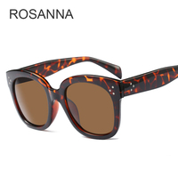 New Arrived Sunglasses Women Luxury Fashion Brand Designer Rivets Decoration Mirror Lens Matte Balck Sun Glasses
