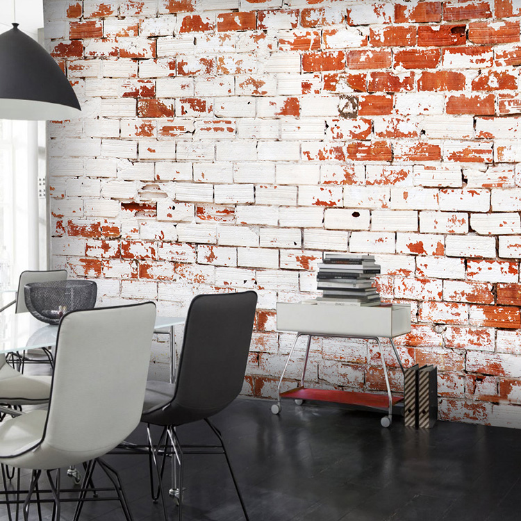 Aliexpress.com : Buy Custom Size Photo 3D Retro Brick Wallpaper White Brick  Wall Background Large Mural Wallpaper From Reliable Brick Wallpaper  Suppliers On ... Part 44