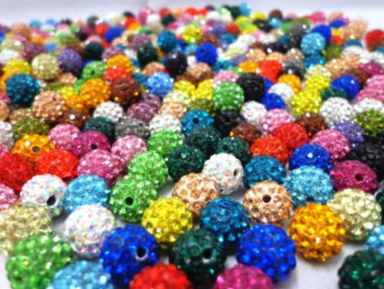 Beads & Jewelry Making Straightforward 10mm 200pcs/lot Hot Mixed Color White Multicolor S45 Rhinestone Round Loose Clay Crystal Beads Bracelet Necklace Diy With Traditional Methods