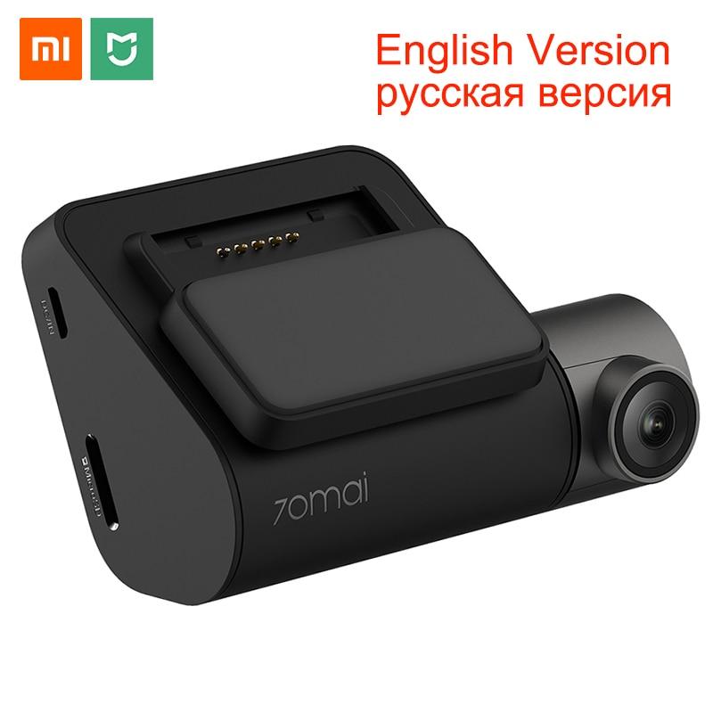 Xiaomi 70mai Dash Cam Pro 1944P GPS ADAS Car DVR Wifi Voice Control Night Vision 24H