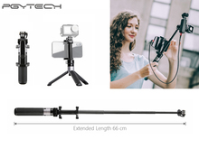 PGYTECH Extension Pole Tripod Selfie Stick PLUS for DJI OSMO ACTION/OSMO POCKET/GoPro Insta360 One X Sports Camera Accessories