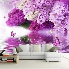 Пользовательские обои фиолетовый цветок гидрология отражение