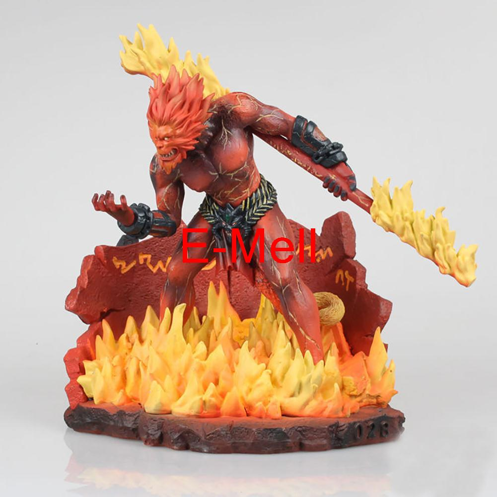 22cm/8.7'' PVC Cosplay LOL Monkey King Wukong GK Action Figures Toys Model Garage Kits made for lol cosplay the loose cannon jinx 24cm 9 5 middle pvc gk action figures toys garage kits standing model