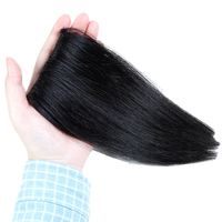 AOSIWIG Pad Hair Pieces Clip in Hair Extension hairpieces High Temperature Silk Material High Temperature Synthetic Wig