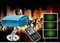 Chuva de Meteoros Estrelas Mini LED Luz de Palco Lâmpada de Controle remoto R & G Projetor Laser de Iluminação de Palco Sound Control DJ Partido de Disco KTV