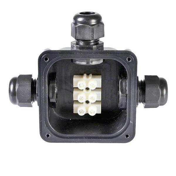 2 Pcs 3 Waterproof Junction Box Outdoor Electrical Power Connector Rh  Aliexpress Com Bt External Junction