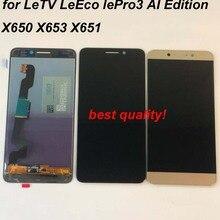 100% オリジナル letv leeco ルプロ 3 X650 X651 X656 X657 X658 X659 X653 lcd ディスプレイ + タッチスクリーンデジタイザアセンブリ愛版
