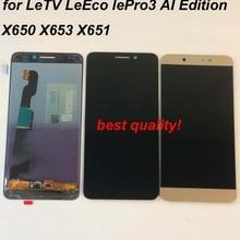Năm 100% Ban Đầu Dành Cho Letv LeEco Le Pro 3 X650 X651 X656 X657 X658 X659 X653 Màn Hình Hiển Thị LCD + Màn Hình Cảm Ứng bộ Số Hóa Ai Phiên Bản