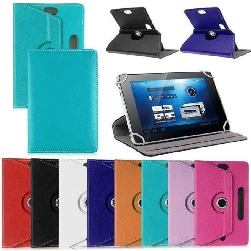 """3 2 1 Fanshu 360 Degree Rotation Leather Case For iPad Air 1 2 3 7"""" 8"""" 9.7"""" 10"""" Stand Holder Cover With Smart Auto On/Off Funda Coque (1)"""