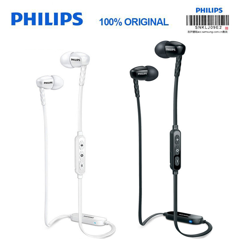 Philips SHB5850 Headband Wireless Headset with Bluetooth 4.1 Volume Control Lithium Polymer for Iphone X Official Verification philips shb5850 white