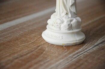 Santo Católico Estatuas De Artes De Nuestra Señora De Lourdes Bien Decoraciones De Resina Figuras De Personajes Diosa Estatua