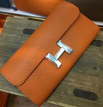 Luxury Brand Women Wallet 100% Genuine Leather Purse Female Long Day Clutches Bayan Cuzdan Coin Pocket Women Bag Stella Bag