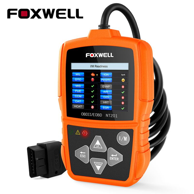 Foxwell NT201 OBD OBD2 Auto Scanner Automotive OBDII Code Reader Diagnostic-Tool for Multi Brand Cars OBD 2 Diagnosis PK ELM327 2017 newest nitroobd2 benzine cars chip tuning box nitro obd2 more power more torque for benzine cars obdii plug page 9