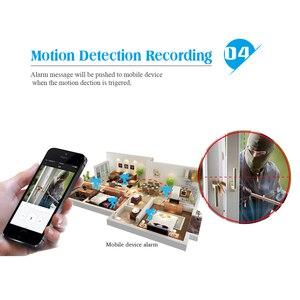 Image 4 - BESDER ONVIF 2.8mm szeroki aparat IP 1080P 960P 720P P2P RTSP wykrywanie ruchu e mail Alert XMEye DC12V POE48V wewnętrzne kamery CCTV