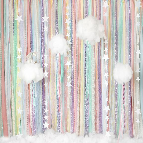 Rainbow Star Cloud Photo Background Photography Backdrops Quality Vinyl