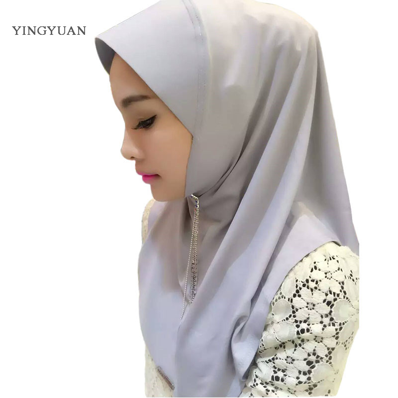 TJ47 new easy wear muslim hijabs  scarf of women high quantity ladies scarves showl(no brooch )