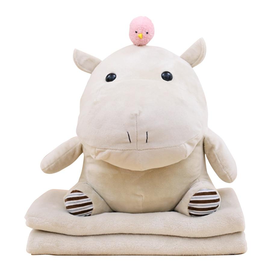Hippopotamus Toys Pillow Plush Simulation Stuffed Animals Kids Soft Toys Soft Plush Hot Brinquedos Valentines Day Gift SIA0048 the hippopotamus