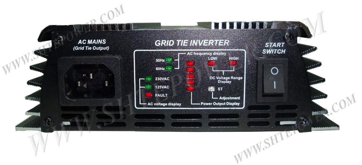 Сетки галстук Мощность инвертор DC22V-60V к AC190V-250V 500 Вт для солнечных батарей Системы