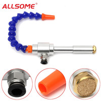 ALLSOME 130MM Vortex Cold Air Gun Dry Cooling Airflow Machine With Flexible Tube HT1819