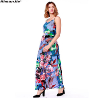 Sexy-strap-women-abstract-floral-print-dress-Fashion-V-neck-backless-maxi-dress-women-Casual-side-split-elastic-long-dress-beach-4