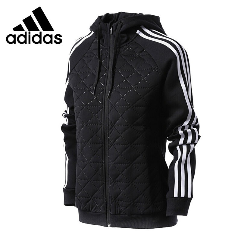 Original New Arrival Adidas HF JKT KN HYBRI Women's jacket Hooded Sportswear original new arrival adidas rs sft sh jkt w women s jacket hooded sportswear