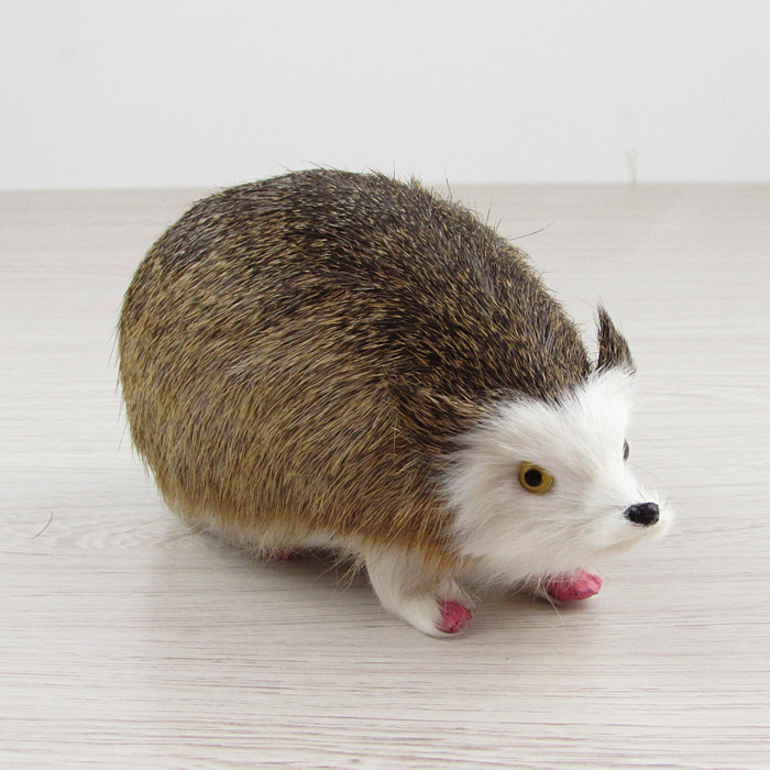 creative simulation Hedgehog toy lovely white face Hedgehog model gift about 20x10x10cm