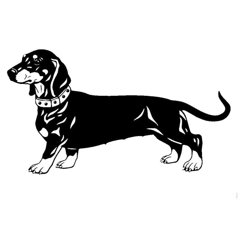 A 452-Dachshund Dachshund Car Sticker for Auto Car Sticker Dog Car Sticker