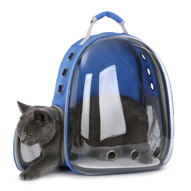 Cat-carrying Backpack for Kitty Puppy Chihuahua Pet Carrier Transparent Capsule Breathable Outdoor Travel Cat Bag Puppy CaveCat-carrying Backpack for Kitty Puppy Chihuahua Pet Carrier Transparent Capsule Breathable Outdoor Travel Cat Bag Puppy Cave