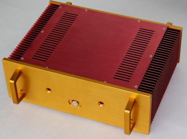 WA115 All aluminum amplifier chassis / Class A amplifier case / AMP Enclosure / case / DIY box(320*150*440mm)