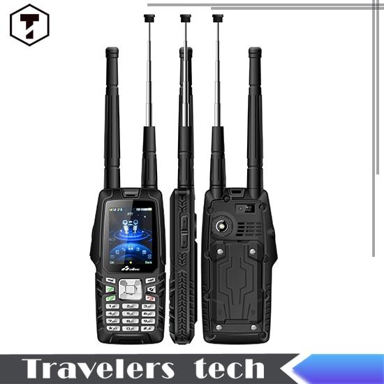 Olive W18 CDMA2000 GSM IP67 Waterproof Mobile Phone with dual sim VHF Walkie Talkie phone 3