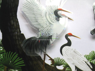 Three Dimensional Wall Art stickers sticker picture - more detailed picture about style three
