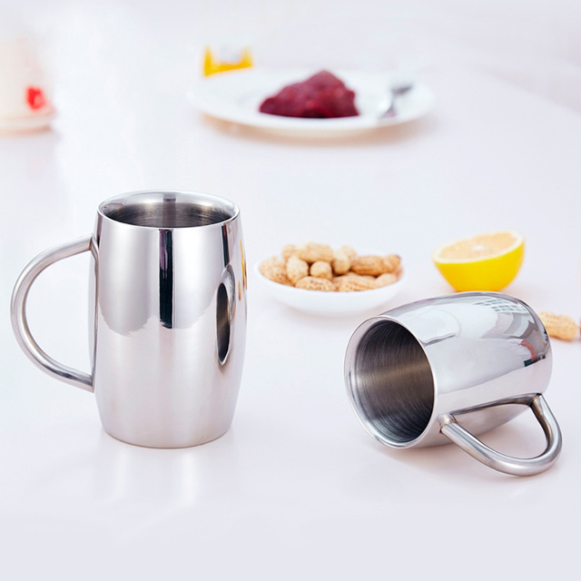 Stainless Steel Insulated Double Wall Coffee Milk Tumbler 3