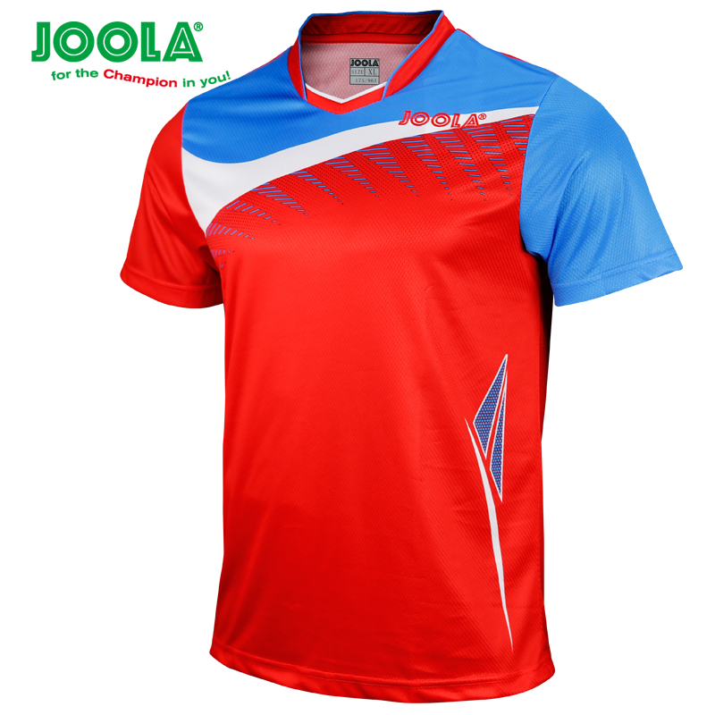 JOOLA Table tennis clothes for men and women clothing T shirt short sleeved shirt ping pong