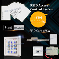 2000Users Keyboard Smart Electronics Keypad Entry System Simple Access Controller Card Pass Stand Alone Door Controller