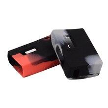 Desalojo AIO caja de goma de Silicona manga/caja/cubierta/piel y adhesivo de silicona para Joyetech EVic AIO caja Mod 75 w Kit de VT