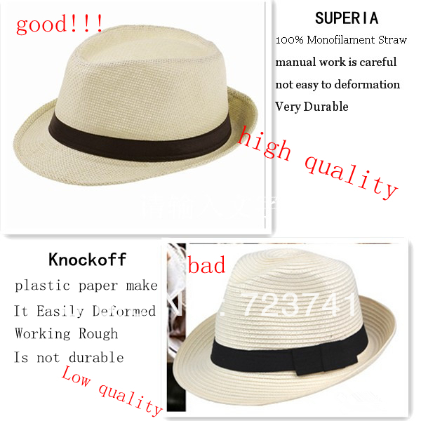 4fe1b613eee8a child hat Summer Beach Sunhat Fedora Trilby Straw Hat boy girl Gangster Sun  Cap Fit For Kids Children-in Fedoras from Apparel Accessories on  Aliexpress.com ...