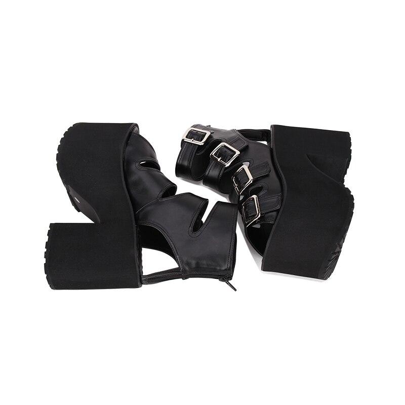 D'été Rock Hauts Femmes Talons Sandales Mentions À Punk Cosplay Noir Chaussures 6013 39 Angéliques 35 Légales Nouvelle Mode mnyv8PN0wO