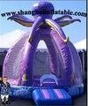 Personalizado gaint inflável polvo casa do salto seguranças trampolim / PVC trampolim inflável / inflável castelo de salto