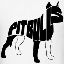 Pit bull Men's T-Shirt 100% cotton O-Neck T Shirt Casual Short Tops Tee