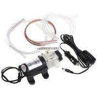 12V 45W Car Electric Oil Diesel Fuel Extractor Transfer Pump Cigarette Lighter