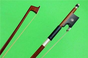 1 PC high-grade violin bow Brazil wood violin bow violin accessories fine silver accessories