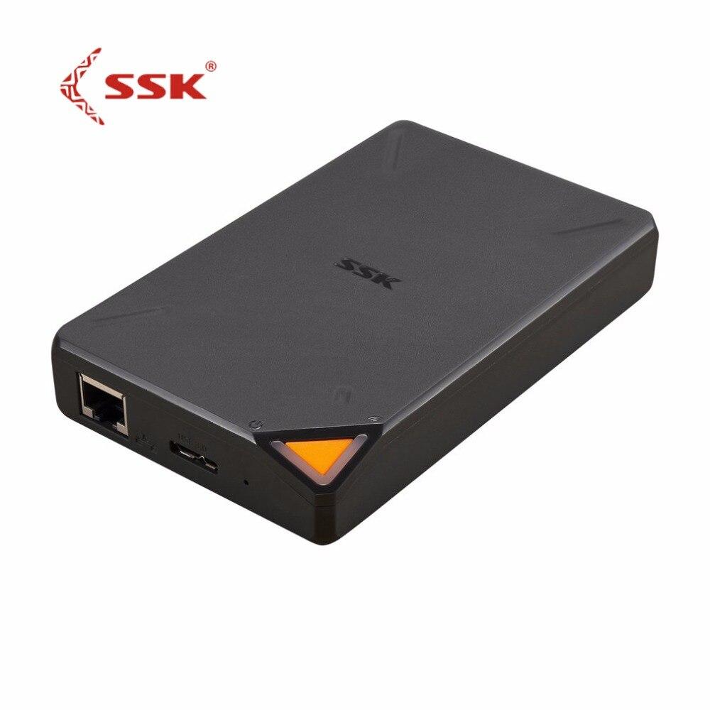 ССК ssm-f200 WI-FI Внешние жёсткие диски 1 ТБ встроенный Батарея высокое Ёмкость HD HDD Беспроводной Smart памяти жесткого диска для IOS для mac
