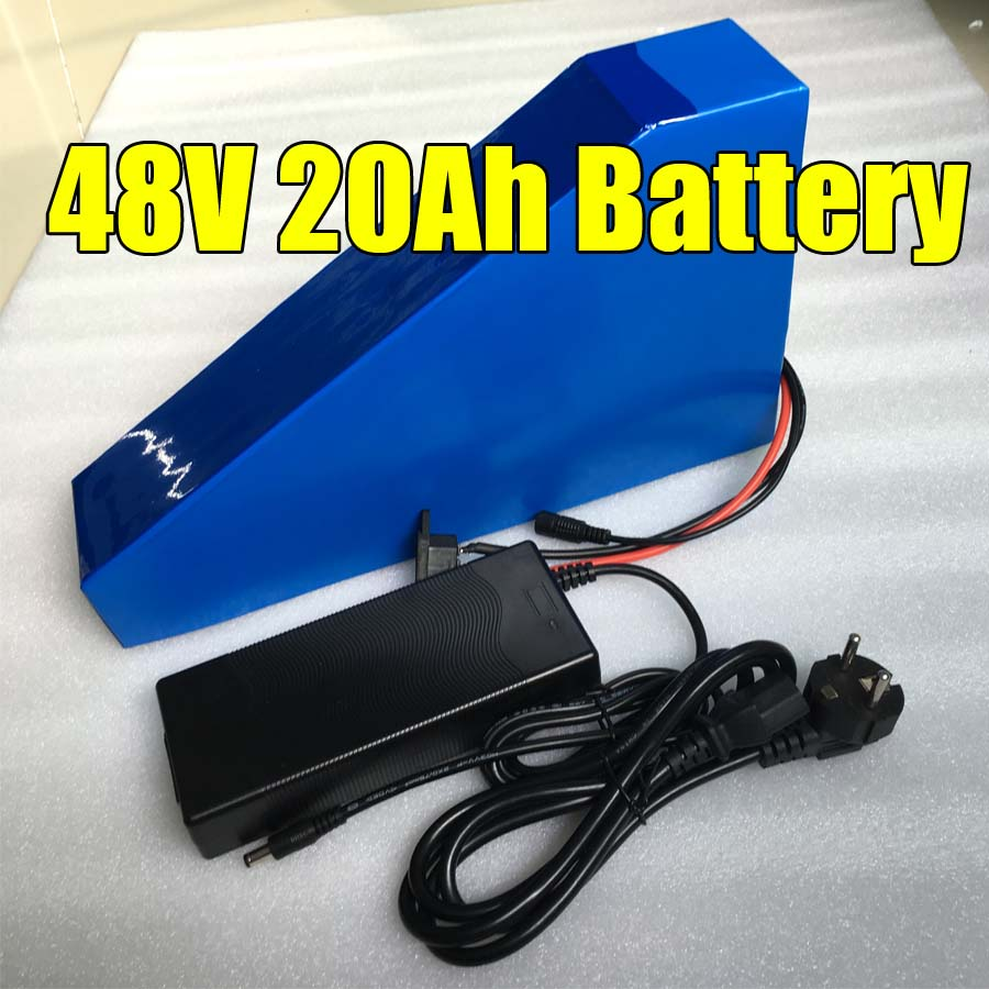 48V 20AH Lithium Ion Electric Bicycle ebike Triangle Battery with charger 2 years warranty48V 20AH Lithium Ion Electric Bicycle ebike Triangle Battery with charger 2 years warranty
