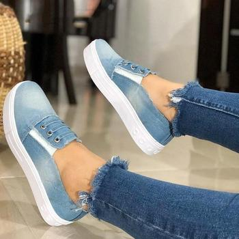 LITTHING 2019 Women Sneakers Autumn Soft Comfortable Casual Shoes  Flats Female Shoes Flats Footwear Dropshipping
