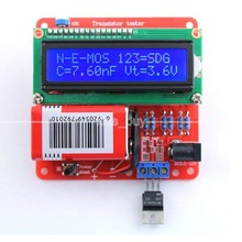 DIY KITS Digital Combo Transistor Tester LCR Diode Capacitance Inductance ESR meter / PWM Signal Generator / frequency meter