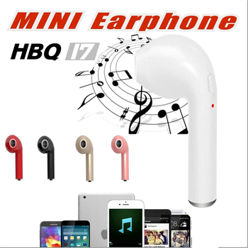 YURIESO HBQ I7 Earbud Single Wireless Invisible Headphones With Mic Stereo bluetooth