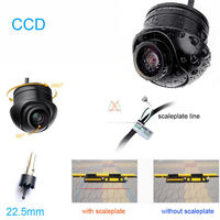 HD E805 CCD 170degree Car Rear View Side Front Color Night Vison BACKUP Camera