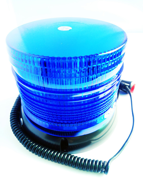 Blue Yellow Led Car Roof Strobe Light Ceiling Round Flashing Warning Light Truck Vehicle Police Emergency Signal Lamp 12V/24V